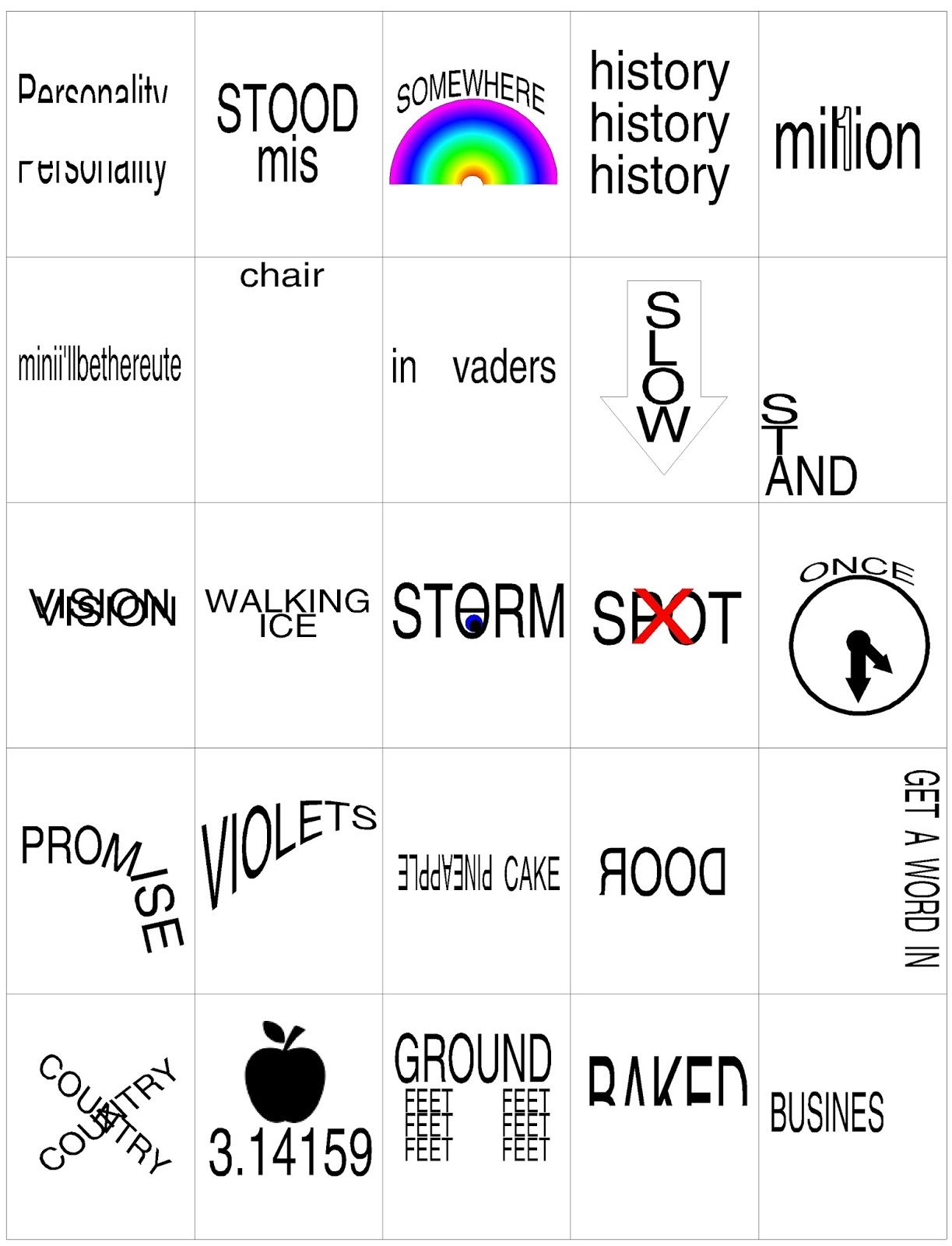 Another Hidden Meaning Brain Teaser Game