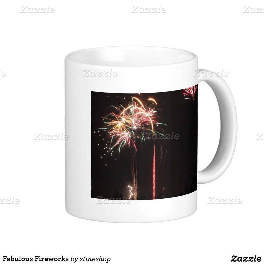 Fabulous Fireworks Mug