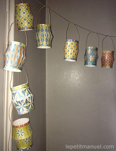 Réaliser Des Lampions En Papier   Tinsel   Pinterest   Origami, Craft And  Adult Crafts