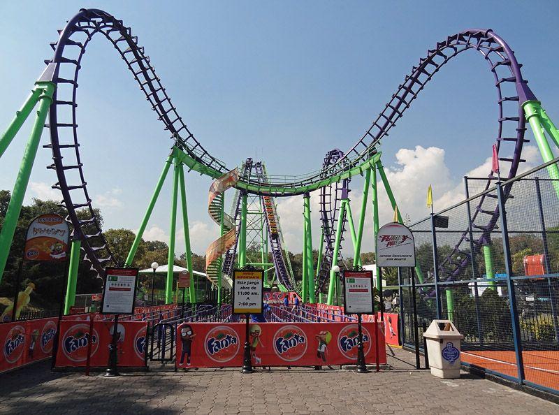 Boomerang Six Flags Mexico Mexico City Distrito Federal Mexico Six Flags Mexico Six Flags Mexico