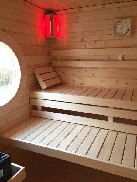sauna mit ausblick eine sauna f r den garten pinterest saunas ausblick und gartensauna. Black Bedroom Furniture Sets. Home Design Ideas