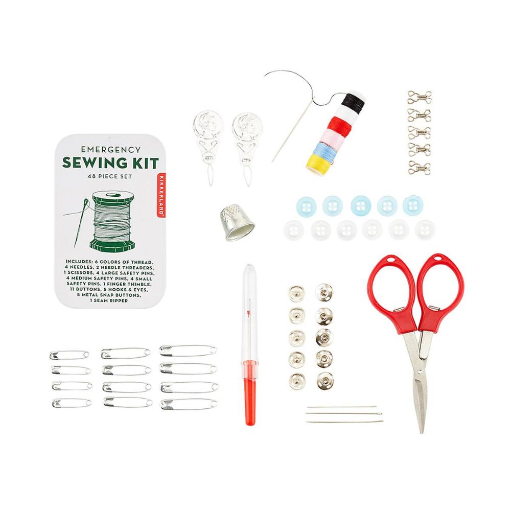 Emergency Sewing Kit In 2020 Emergency Sewing Kit Travel Sewing Kit Sewing Kit