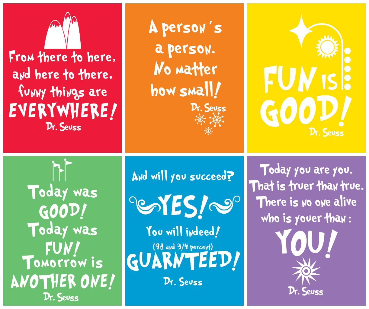 Free Prints Dr Seuss