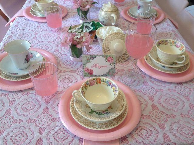 Tea Party Birthday Party Ideas & Tea Party Birthday Party Ideas   Tea party table Tea parties and Teas