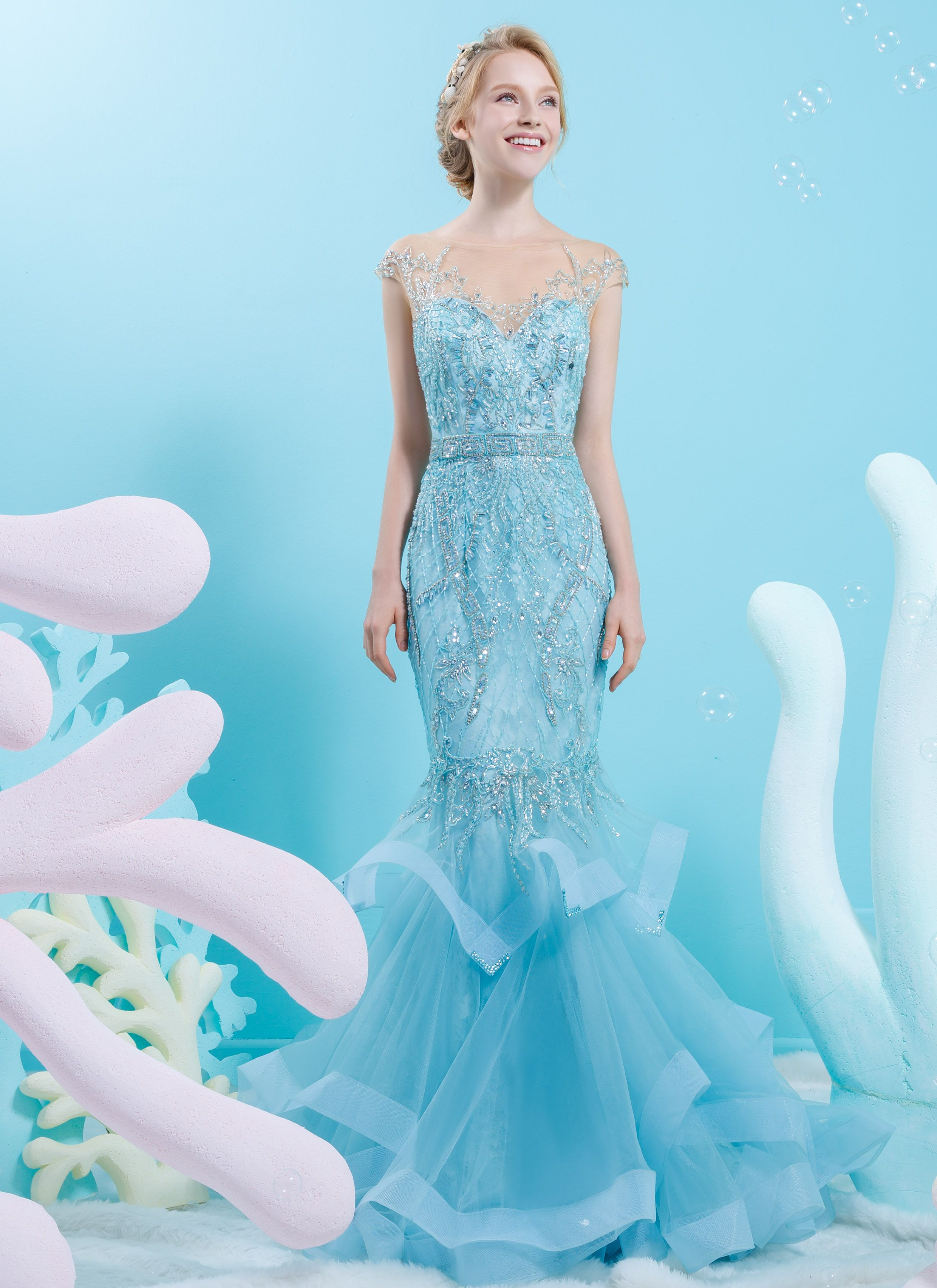 evening gown | Happily Ever After | Pinterest | Gowns, Pastels and ...