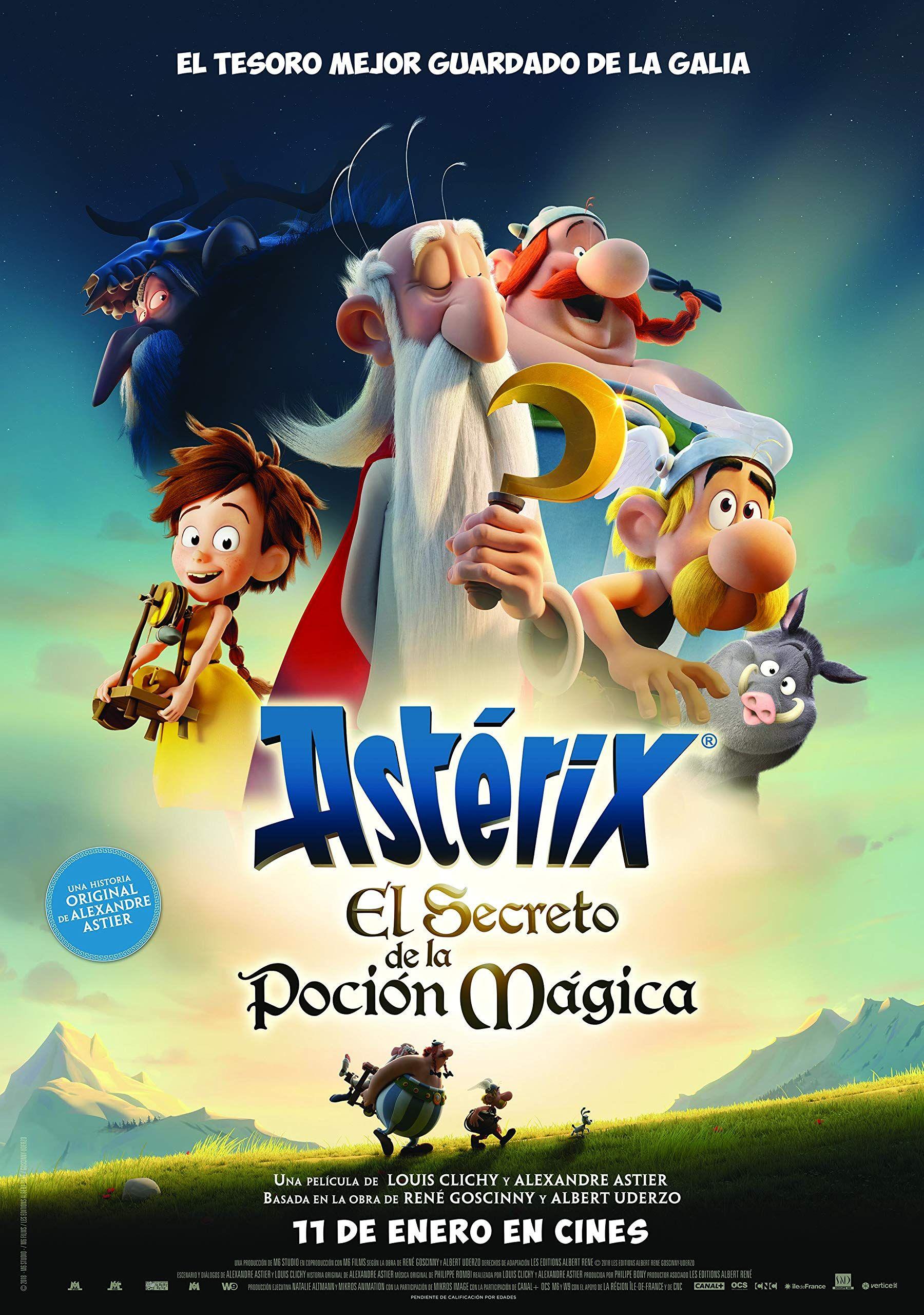 Ast Rix El Secreto De La Poci N M Gica Blu Ray Secreto De El Ast Historia Em Quadrinhos Filmes Asterix E Obelix