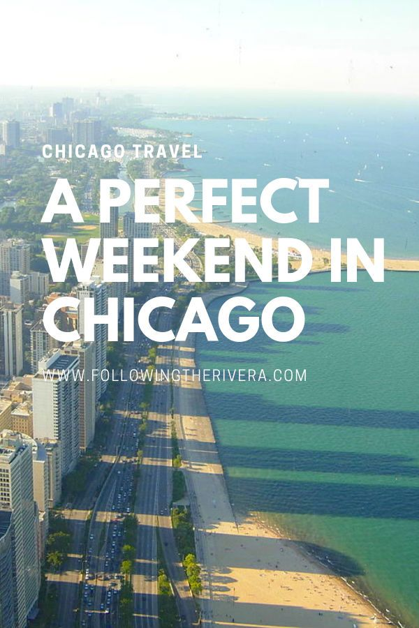 2 days in Chicago. Plan the ultimate weekend in the windy city of #Chicago #Travelideas #Traveldestinations #Travel #Traveltips #Chicagotravel #TravelChicago #Weekendbreak #Citybreak #UStravel #USA