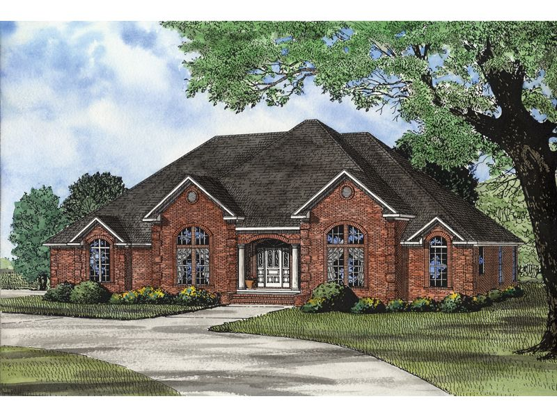 Makalu Ranch Home Monster House Plans Traditional House Plans House Plans