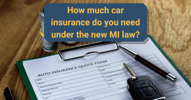 How Much Car Insurance Do I Need In Michigan In 2020 Car