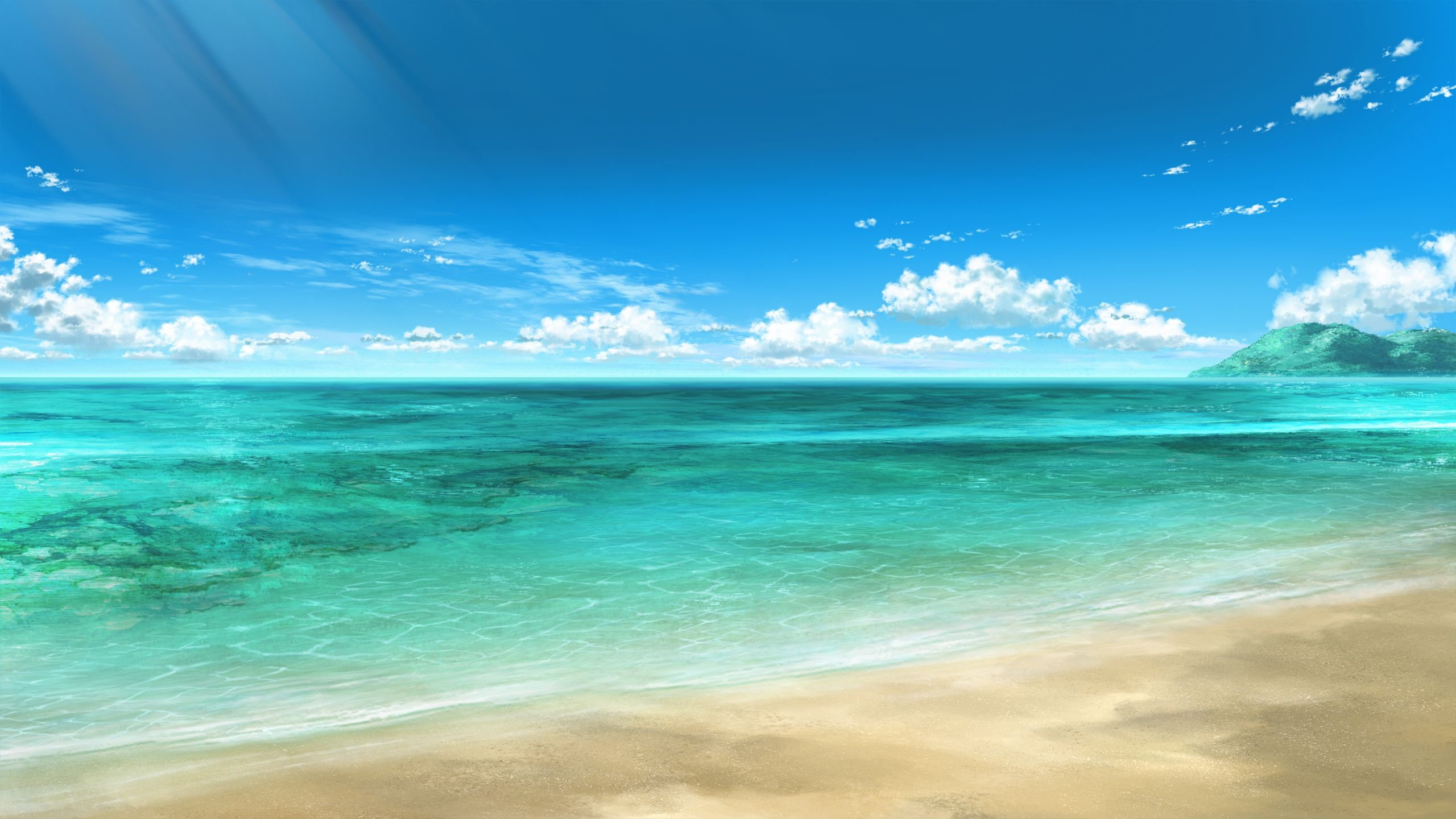 Seaside Desktop Background wallpaper free