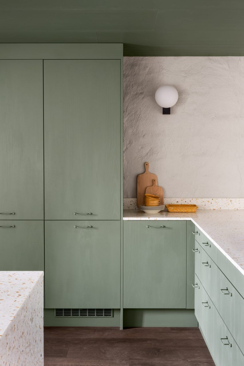 Note Design Studio adds colour block rooms to The Mantelpiece Loft ...