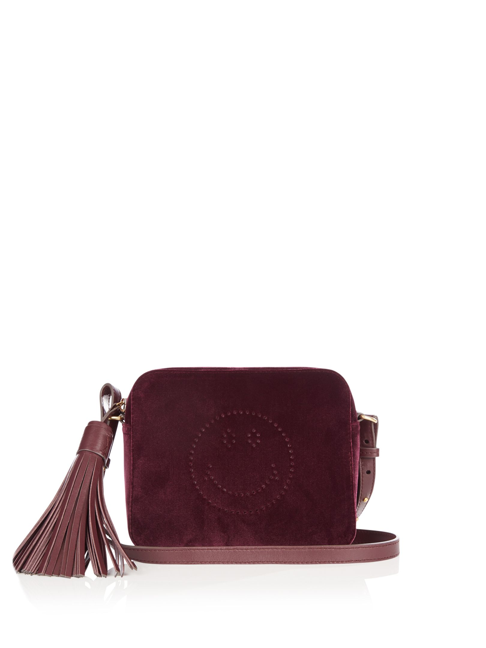 1894f081a Smiley velvet cross-body bag | Anya Hindmarch | MATCHESFASHION.COM ...