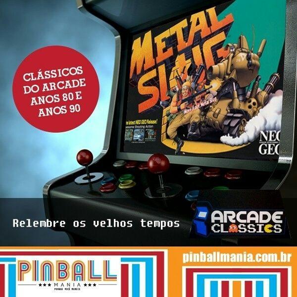 On instagram by pinball_mania #arcade #microhobbit (o) http://ift.tt/1SUWkNK tal travar uma batalha épica em METAL SLUG?  Jogue os clássicos de sua infância! A máquina é personalizada com mais de 1.200 jogos dos anos 80 e 90 em uma única máquina. Todos os jogos que marcaram época para você como: #StreetFighter #MetalSlug #MarvelVSStreetFighter #FinalFight #MortalKombat entre outros.  Isso sim vai animar as visitas dos seus amigos em casa suas festas e confraternizações na empresa. Quer ver…