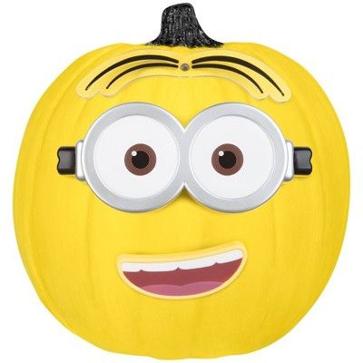Halloween 2020 Dave Despicable Me Minion Dave 5pc Halloween Pumpkin Push In Decorating