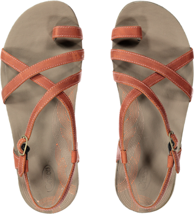 e0666e625cf7 Thumbnail of Chaco Dorra Sandals - Women s Top view (Flamingo)