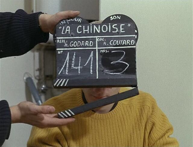 Le Chinoise (1967) Jean-Luc Godard Cinematographer- Raoul Coutard