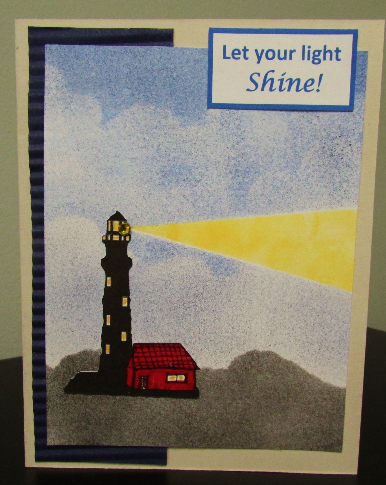 Encouragement cards let your light shine light house theme encouragement cards let your light shine light house theme greeting cards kristyandbryce Choice Image