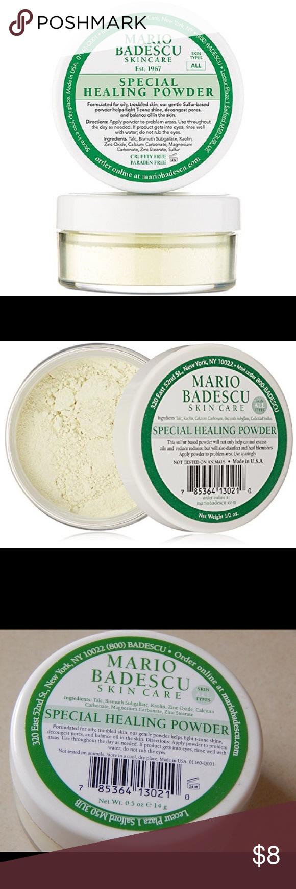 Mario Badescu Special Healing Powder Mario Badescu Healing Powder Puff