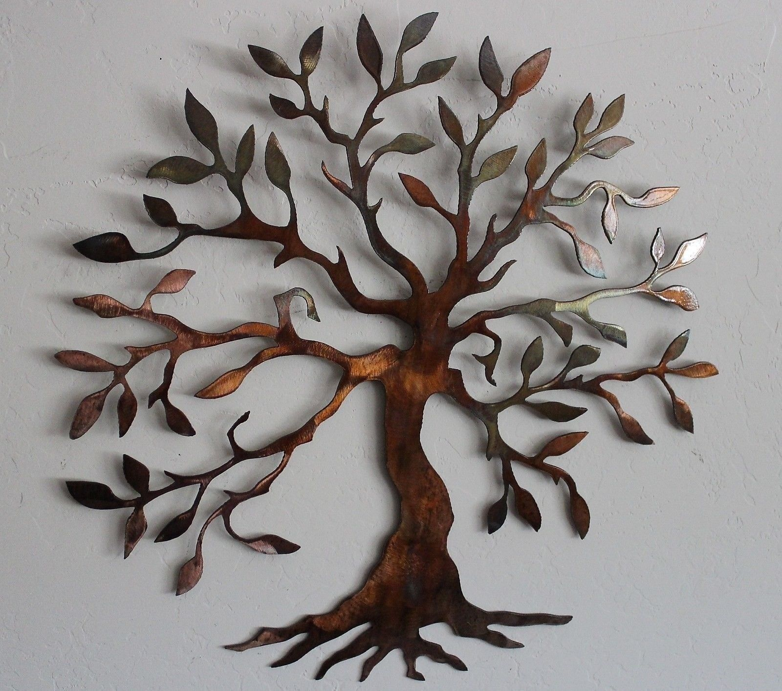 Olive Tree Tree Of Life Metal Wall Art Decor 18 14 Apartment