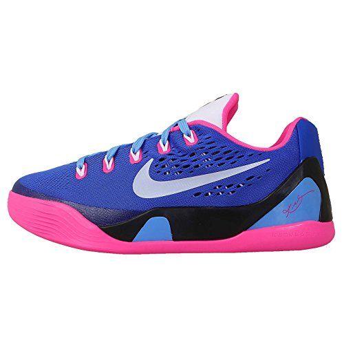 official photos 9a2c3 ec28e Nike Kid s Kobe IX EM GS, HYPER PINK WHITE-HYPER COBALT, Youth