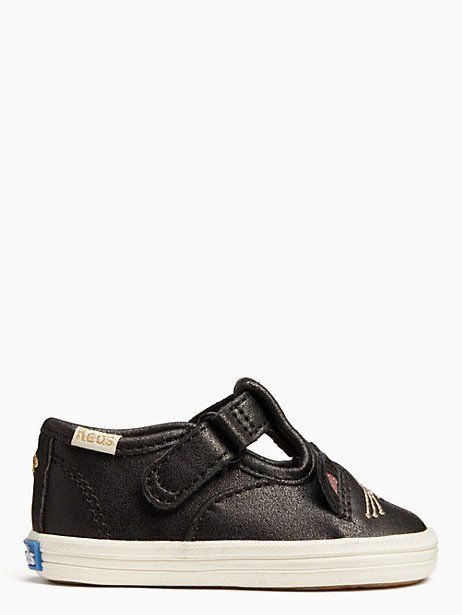 d665b4d2491e5 Keds X Kate Spade New York Hayden Cat T-strap Crib Sneakers
