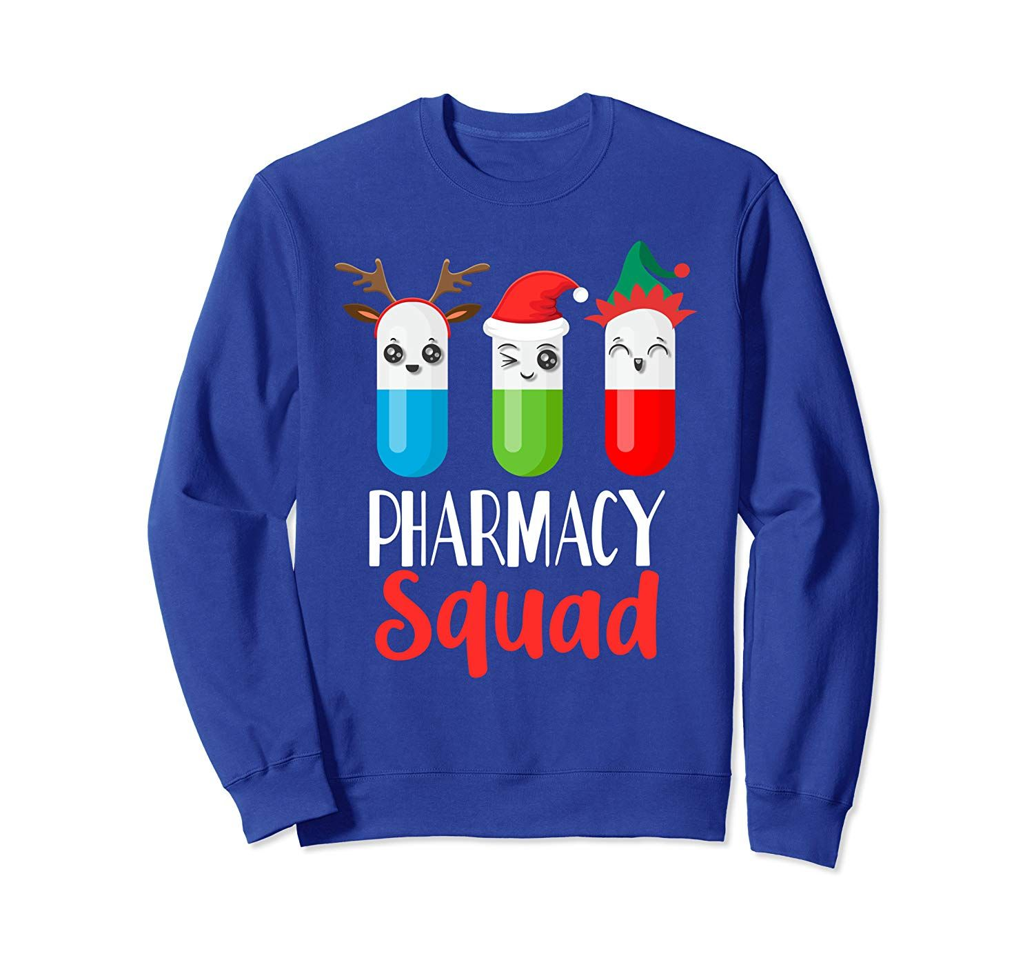 Funny Pharmacy Tech Christmas Matching Outfit Pharmacist