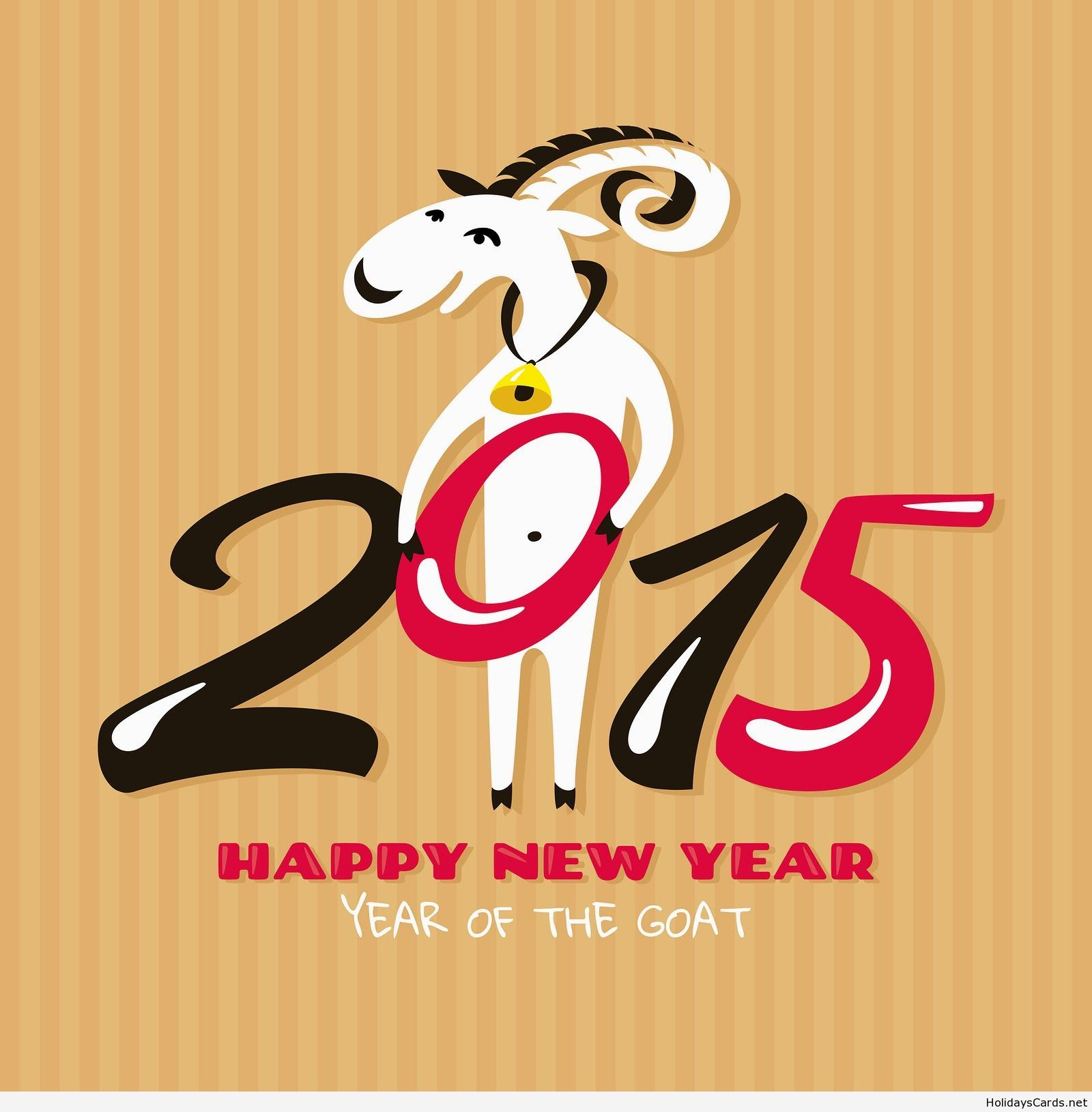 Funny goat year 2015 wallpaper happy new year pinterest chinese new year 2015 greeting cards with goats kristyandbryce Choice Image
