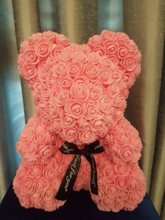 Výsledok vyhľadávania obrázkov pre dopyt rose teddy light orange 40cm