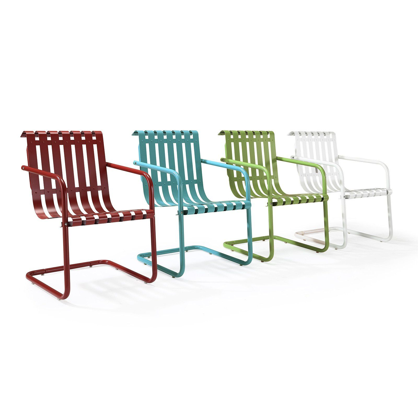 Crosley Gracie Retro Spring Chair Bounce Away Your Cares After A Long Day With The Comfortable Crosley Gracie Retro Spring Chair Beauti Outdoor Rocking Chairs