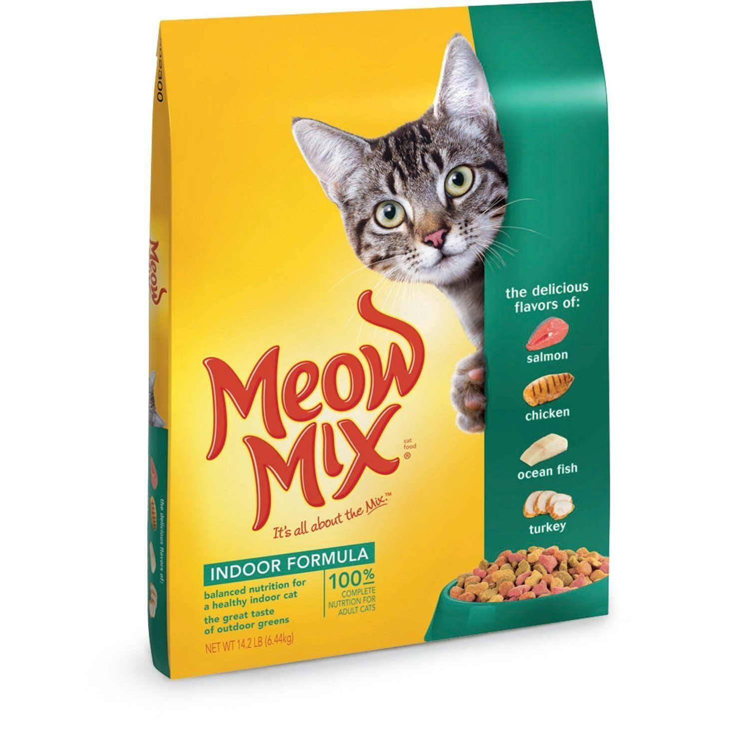 Meow Mix Indoor Formula Dry Cat Food-New Value Pack Size-42.6 ...
