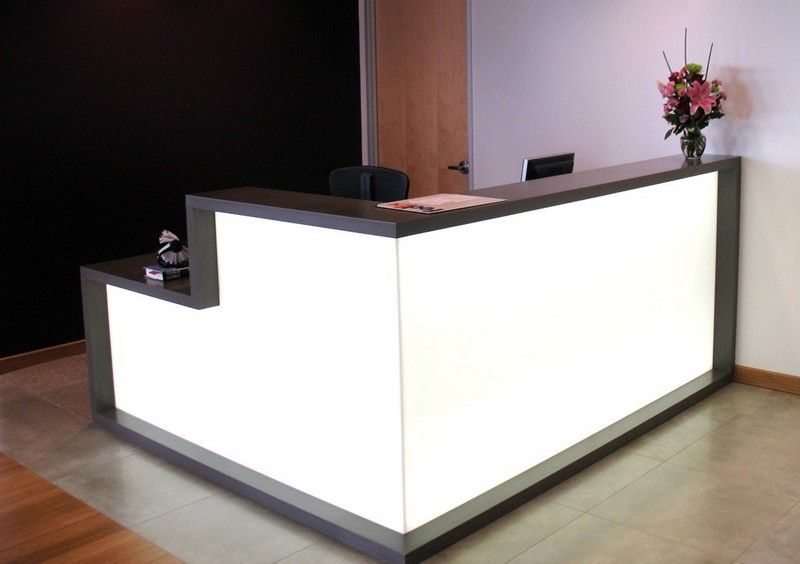 angles for reception desk in new idt building furniture l shaped