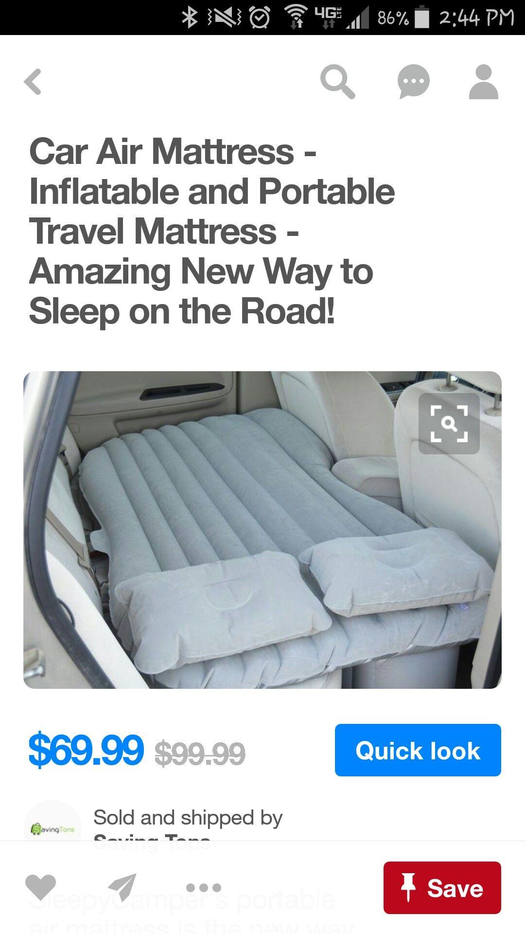 Back seat mattress for my truck Car air mattress, Ways