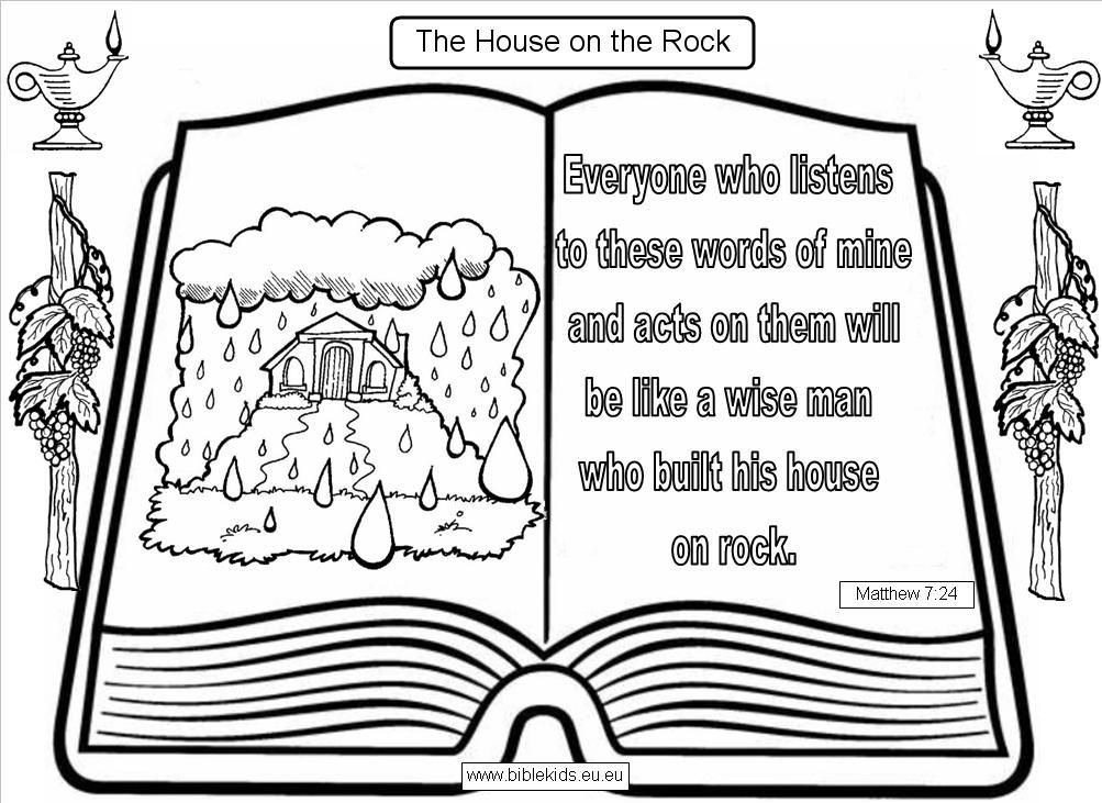 House On The Rock Parable Of Wise And Foolish Builders