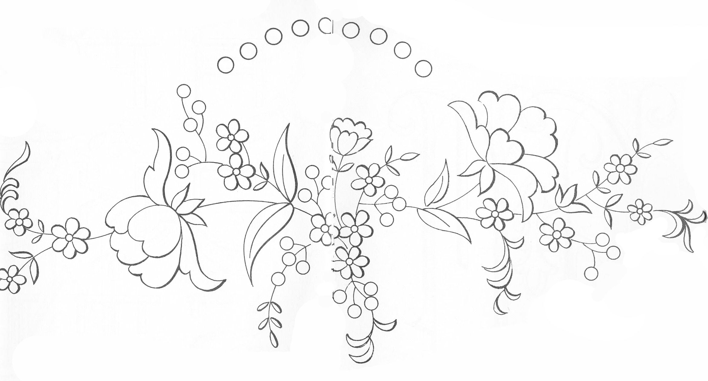 Embroidery Patterns | drawing | Pinterest | Bordado, Dibujos para ...