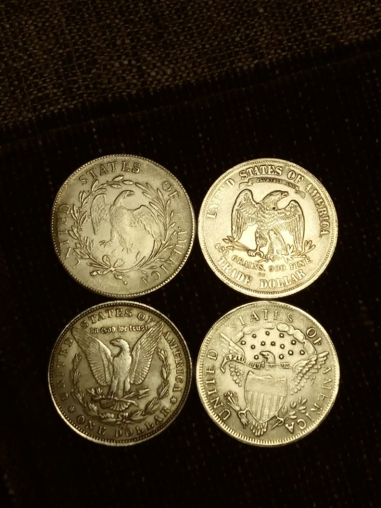 Sell U.S. Silver Dollars Silver dollar value, Coin