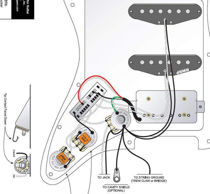 Hss Wiring Diagram Strat in 2021 | Fender vintage, Famous guitars,  Electrical wiring diagram | Guitar Wiring Diagrams Hss |  | Pinterest
