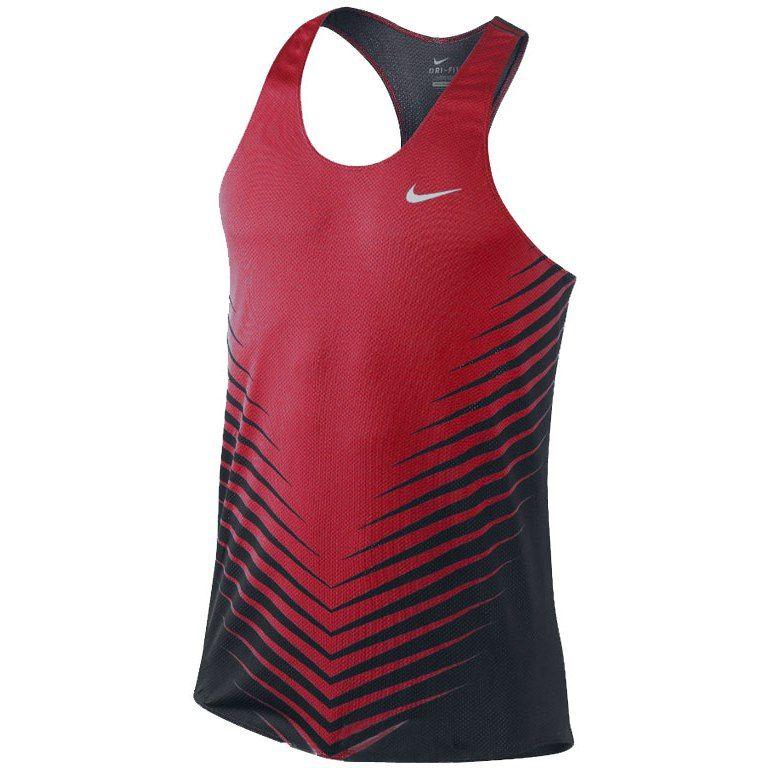 388b57694 Nike Race Day singlet | Men's fashion | Athletic tank tops, Running ...