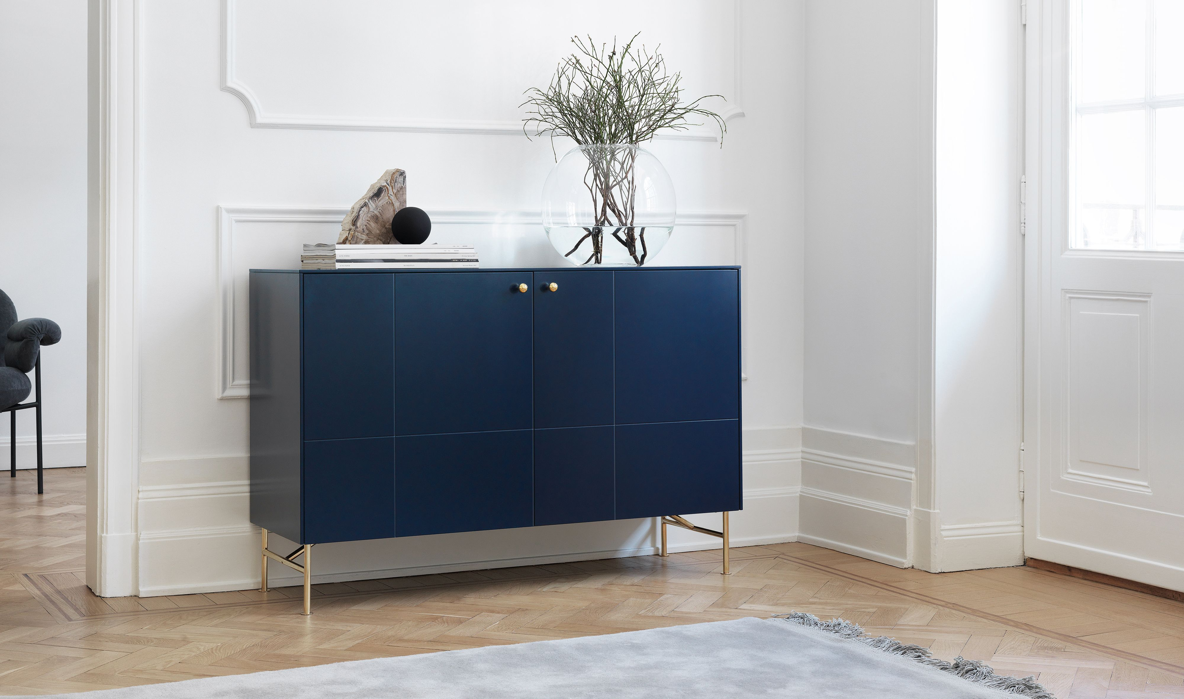 Credenza Ikea Canada : Superfront sideboard built on the ikea cabinet frame bestå. front in
