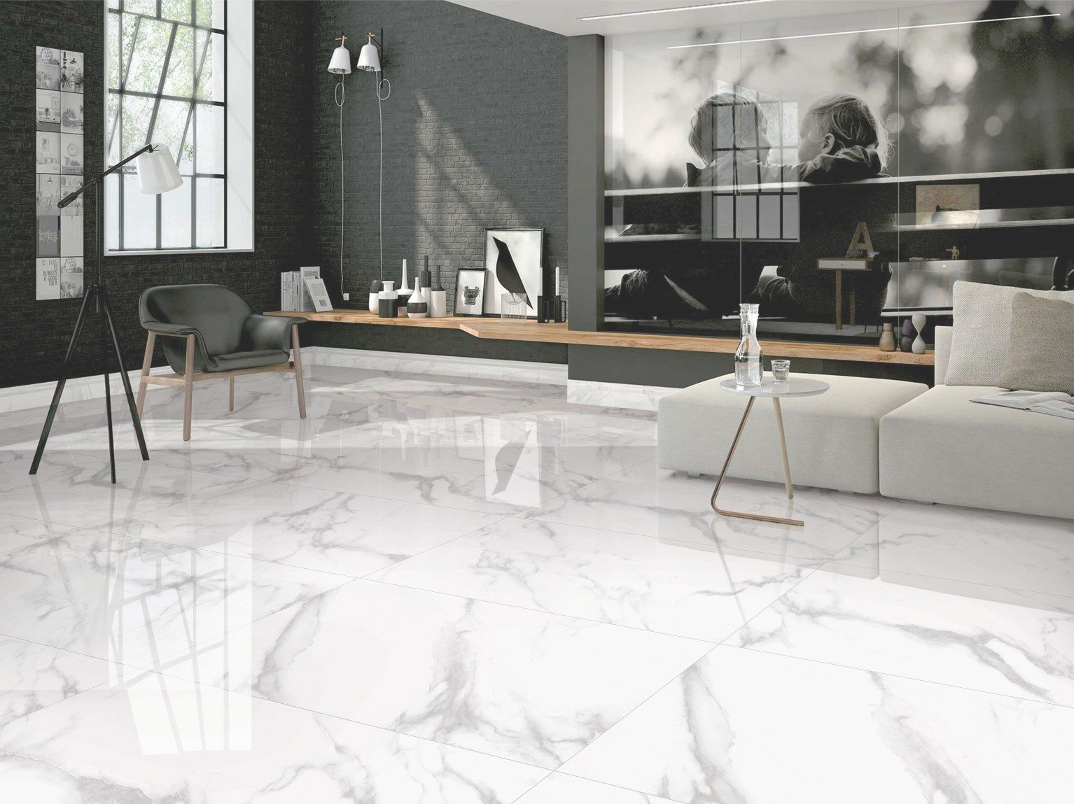 Marble Flooring Orient Bell Tiles Statuario Marble Floor Tiles - Decornish  [dot] com | Tile floor living room, Marble tile floor, Living room flooring