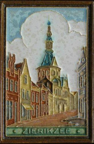 Porceleyne Fles Delft Tile Zierikzee Art Pottery