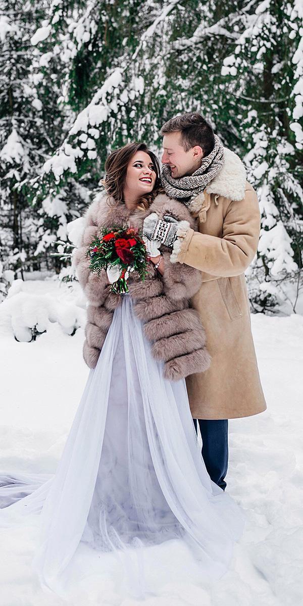 21 Impeccable Winter Wedding Dresses Winter wedding