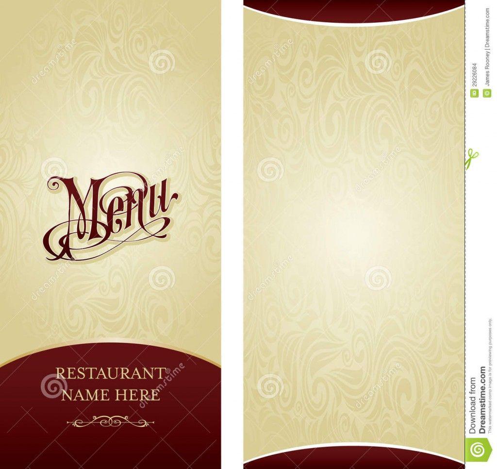 Retro style blank menu template flyers | Zazzle | ADJECTIVE MENU ...