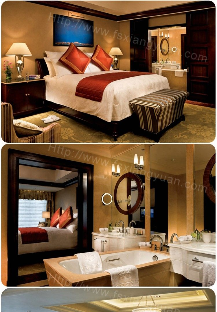 Hotel equipments scenery standard room egyptian malaysia modern homelike bedroom furniture
