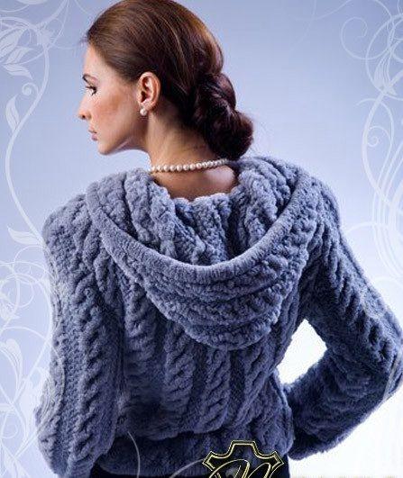 кардиган из плюшевой пряжи вязание вязание вязание крючком и свитер