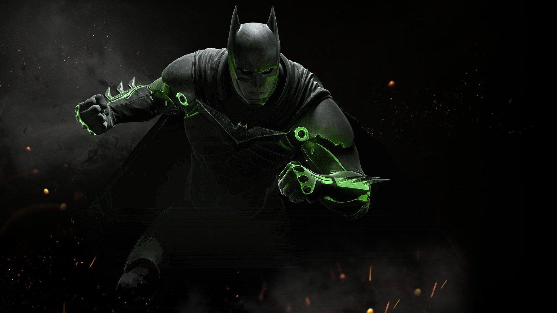 1920x1080 Injustice 2 Wallpaper Desktop Batman Batman Injustice Batman Comic Wallpaper