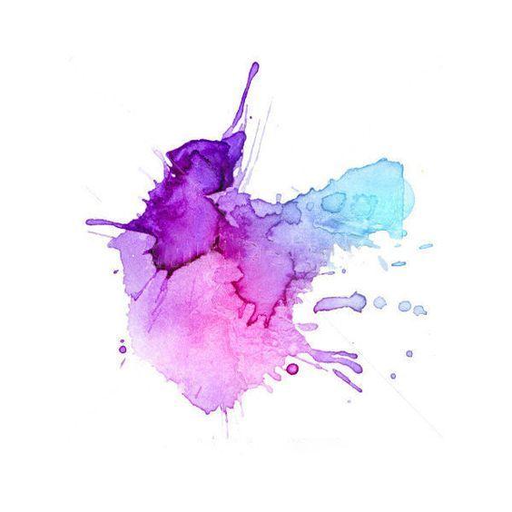 Business With Images Watercolor Splash Watercolor Splatter
