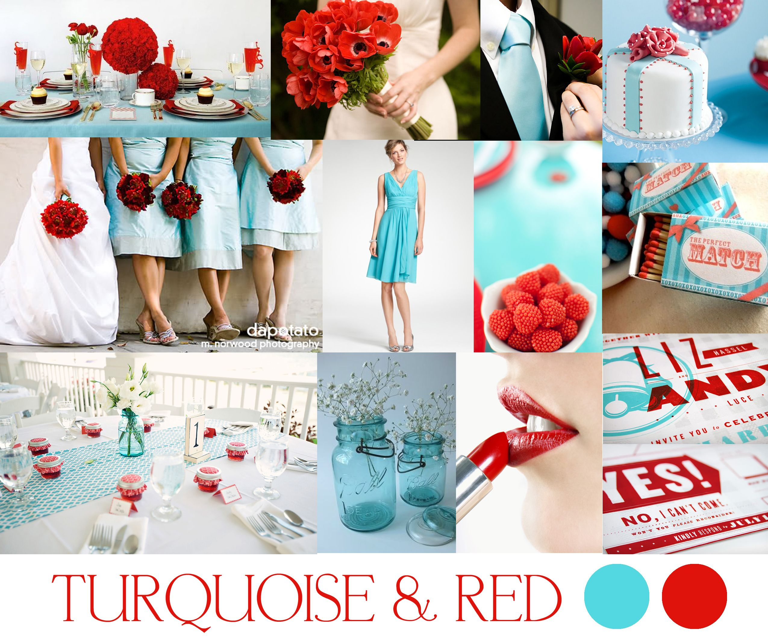 Wedding Color Schemes Turquoise Wedding And Wedding