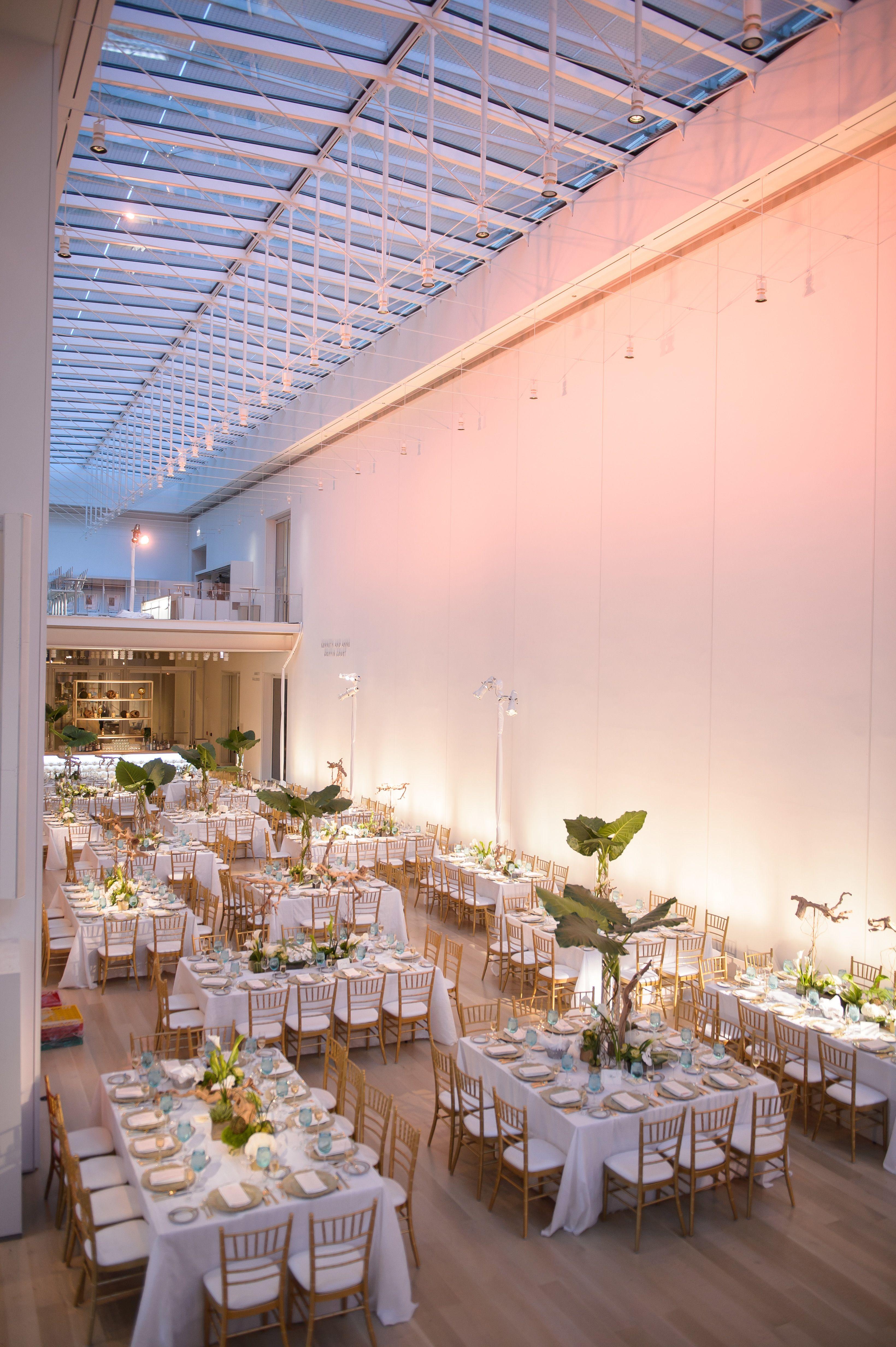 Modern Wing Art Institute Of Chicago Wedding