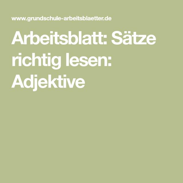 Awesome Thema Satz Arbeitsblatt Für Schüler Image Collection ...