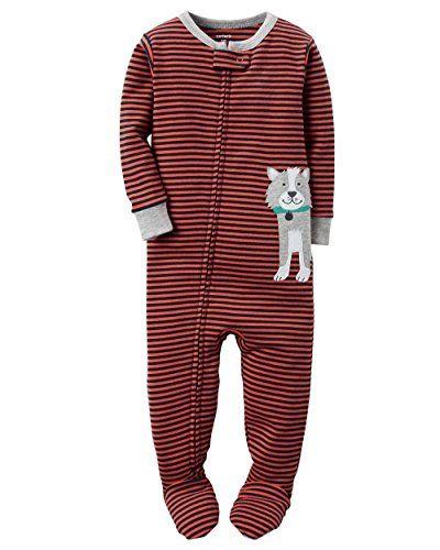 02780ff80 Baby Boy Clothes Carters Baby Boys Snug Fit Cotton Footie Pajamas ...